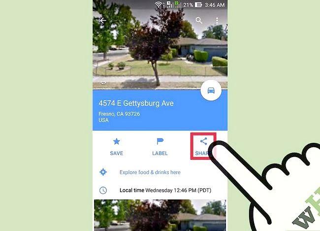 Imagine intitulată Obțineți Latitudinea și Longitudinea de la Hărți Google Pasul 12