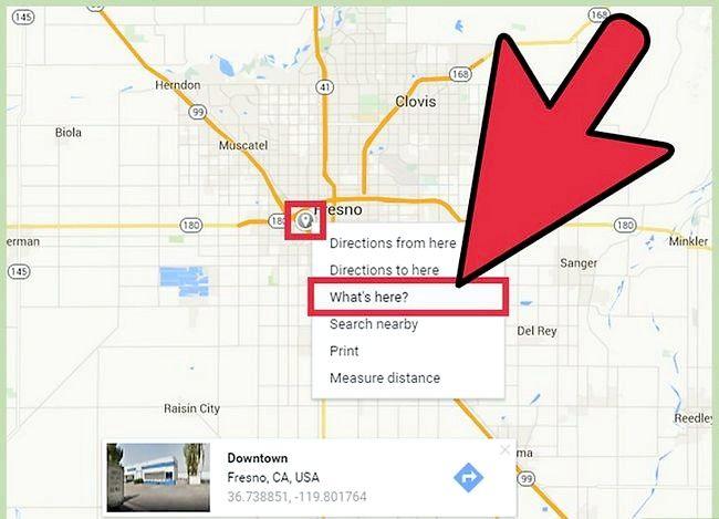 Imaginea intitulată Obțineți Latitudinea și Longitudinea din Hărți Google Pasul 15