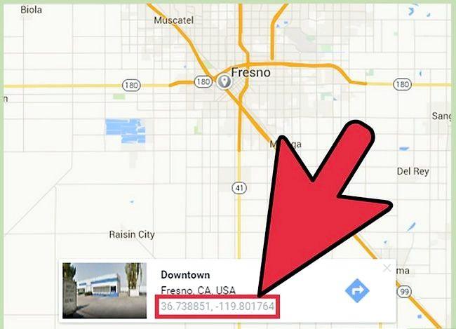 Imaginea intitulată Obțineți Latitudinea și Longitudinea din Hărți Google Pasul 16
