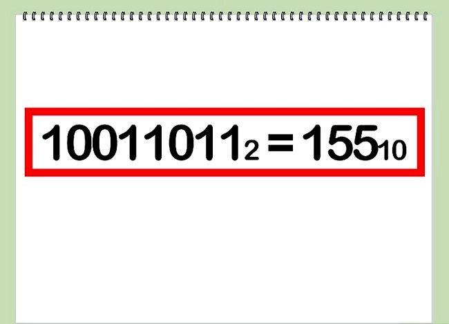 Conversia de la pasul binar la decimalul 6