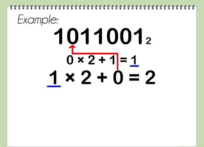 Conversia de la pasul binar la decimalul 10