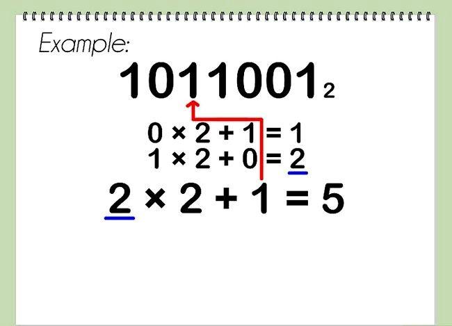 Conversia de la pasul binar la decimalul 11