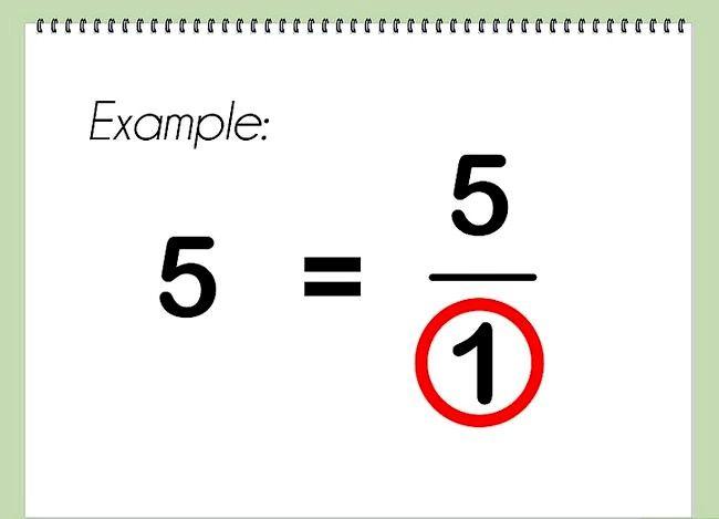 Imagine intitulată Multiplicarea fracțiunilor cu numere întregi Pasul 1