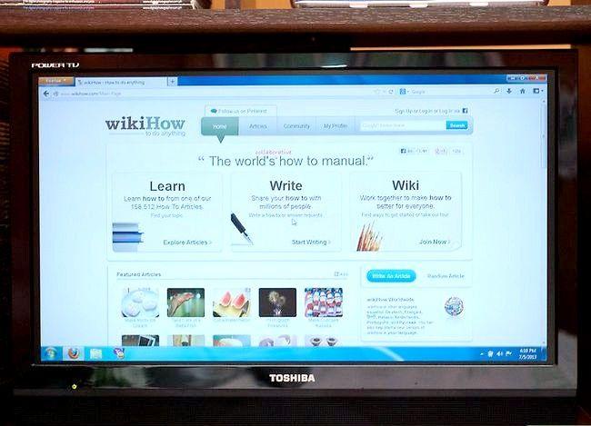Imaginea intitulată Conectarea unui computer la televizor Pasul 11