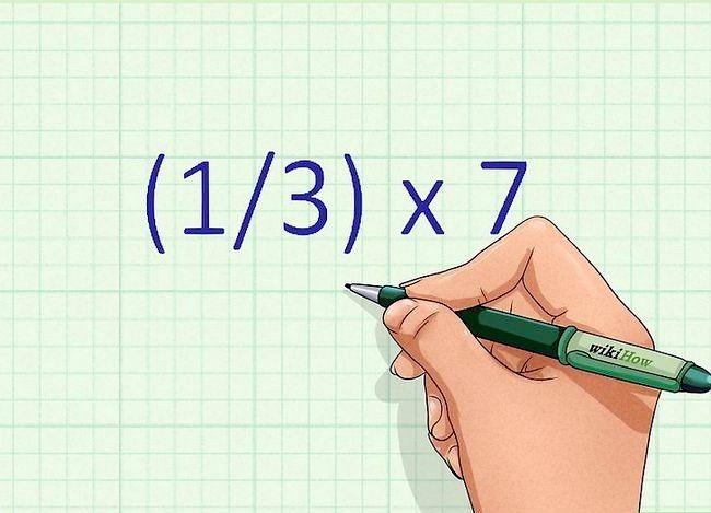 Găsiți o fracțiune a unui număr Pasul 1