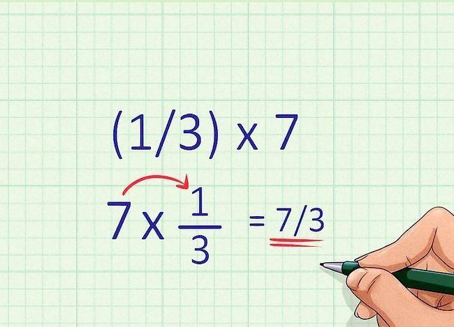 Găsiți o fracțiune a unui număr Pasul 2