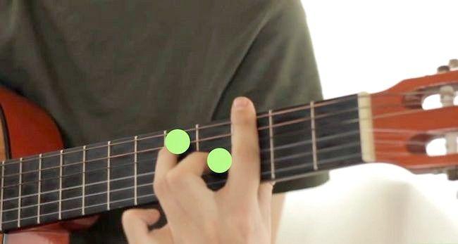 Imaginea intitulată Redă Gordul major pe chitara Pasul 12