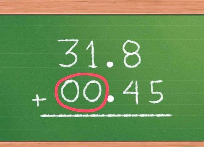 Imaginea cu titlul Adăugați decimale Pasul 4