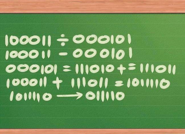 Imaginea intitulată Împărțiți numerele binare Pasul 11
