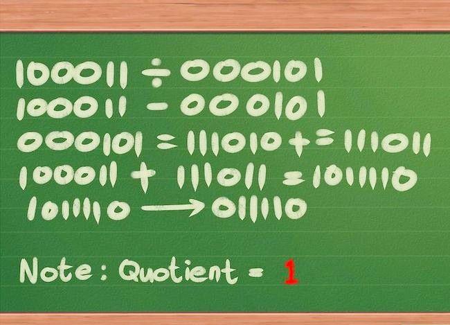 Imaginea intitulată Împărțiți numerele binare Pasul 12