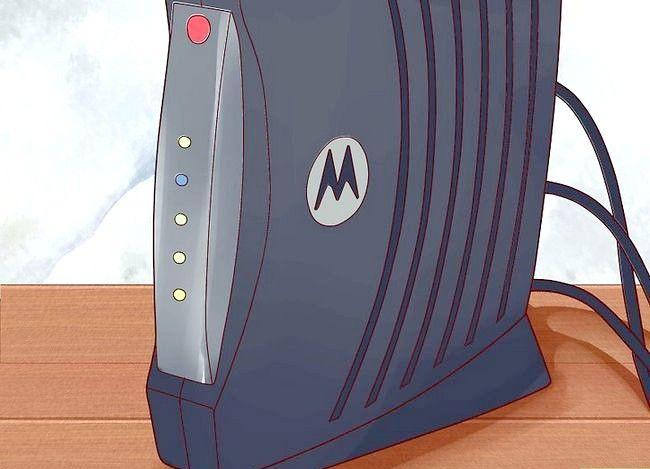 Imagine intitulată Configurați un modem Motorola SURFboard Step 6