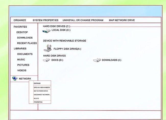 Imaginea intitulată Configurați un drive de rețea Pasul 4