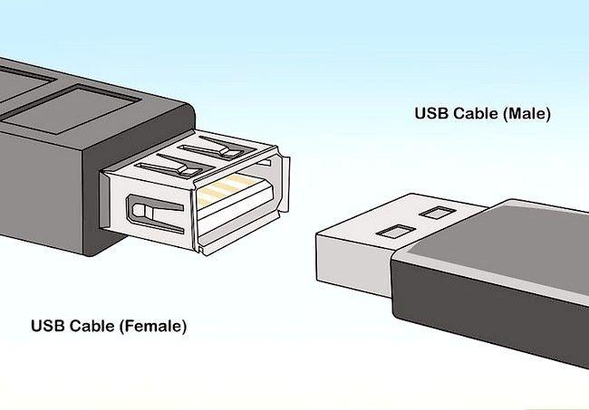 Imaginea intitulată Extinderea cablului USB Pasul 2