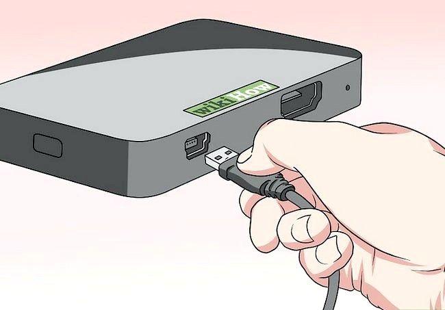 Imaginea intitulată Extinderea cablului USB Pasul 6