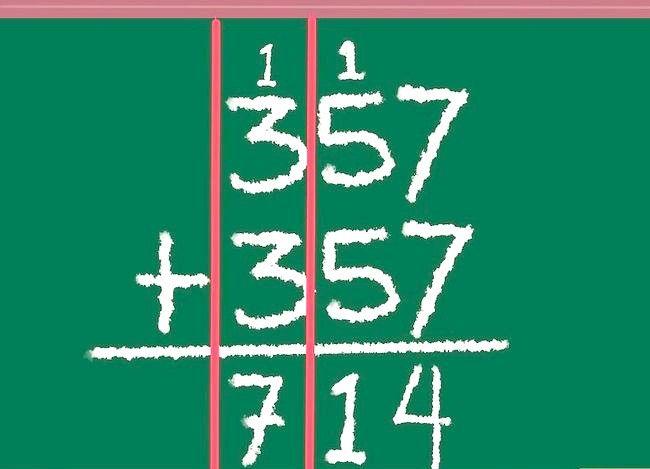Imaginea intitulată Dublu cu un număr de pas 5