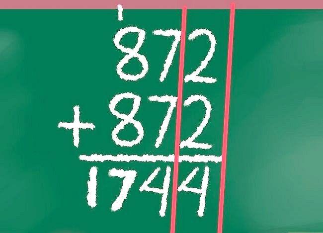 Imaginea intitulată Dublu cu un număr de pas 10