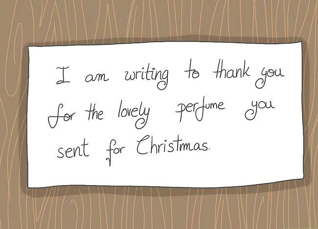 Imagine Scrie o notă de mulțumire pentru un cadou de Crăciun Pasul 4