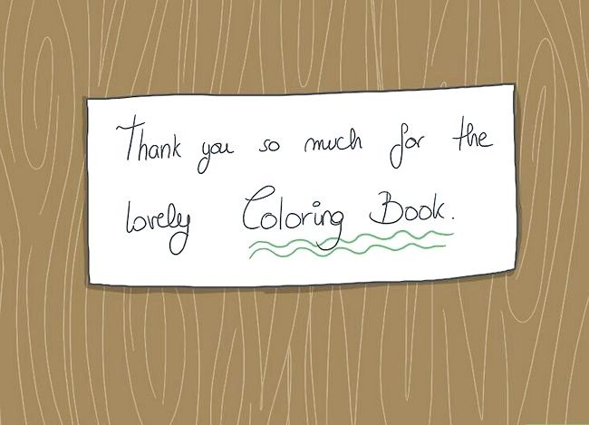 Scrieți o notă de mulțumire pentru un cadou de Crăciun Pas 5
