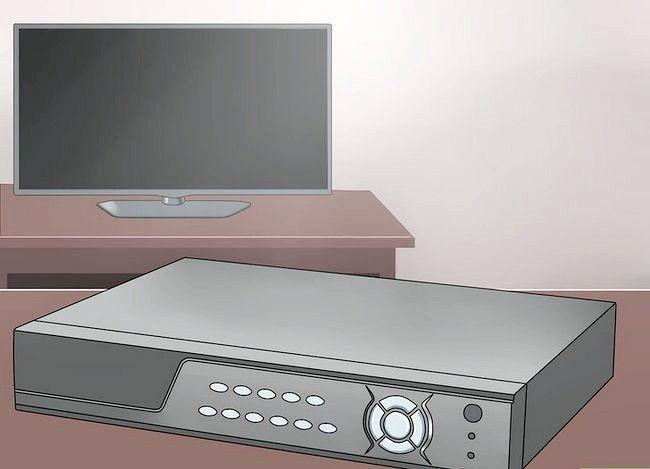Imaginea intitulată Conectați DVR la televizor Pasul 1