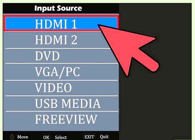 Imaginea intitulată Conectați DVR la televizor Pasul 4