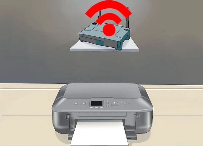 Imaginea intitulată Instalați o imprimantă de rețea Pasul 1