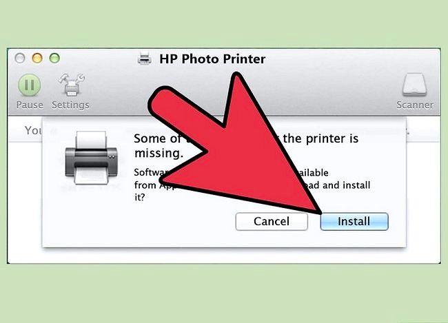 Imaginea intitulată Instalați o imprimantă de rețea Pasul 15