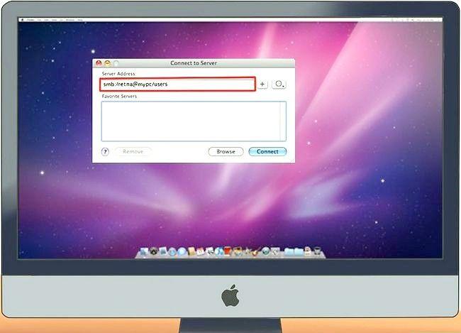 Imaginea intitulată Conectarea unui PC la un Mac Pasul 11