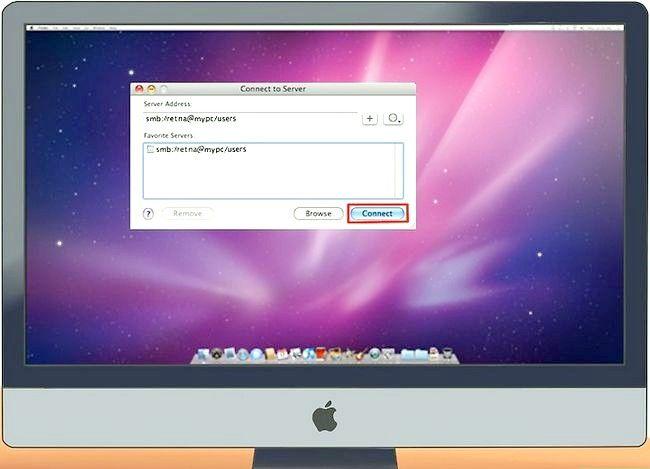 Imaginea intitulată Conectarea unui PC la un Mac Pasul 13
