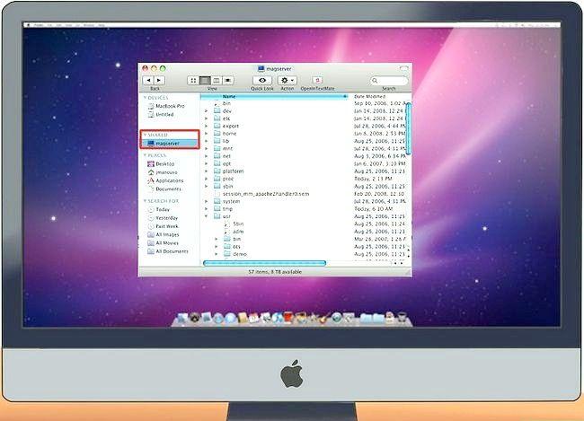 Imaginea intitulată Conectarea unui PC la un Mac Pasul 15