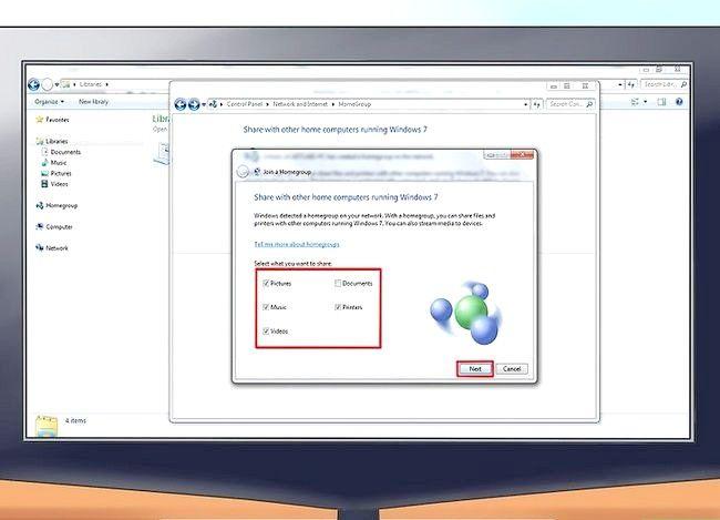 Imaginea intitulată Conectarea unui PC la un Mac Pasul 6