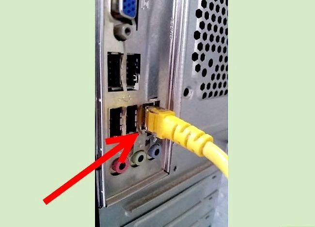 Imaginea intitulată Conectarea unui PC la o rețea Etapa 3