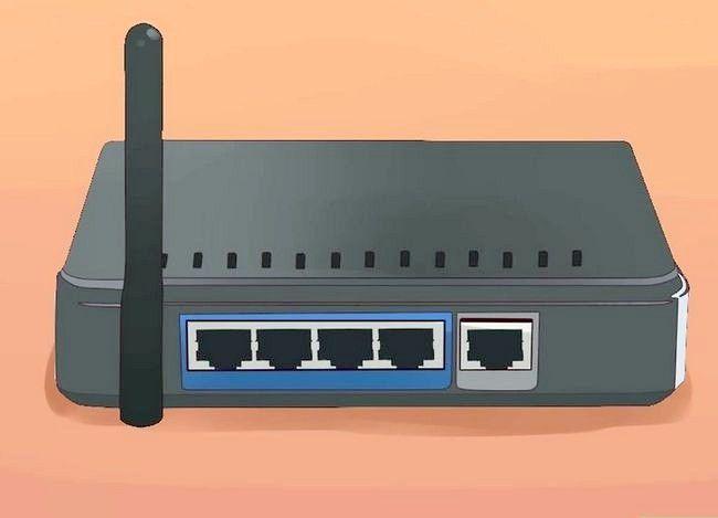 Imagine intitulată Conectați un router la altul pentru a extinde o rețea 1
