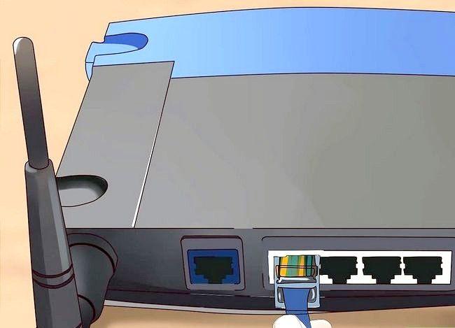 Imaginea intitulată Conectați un router la altul pentru a extinde o rețea