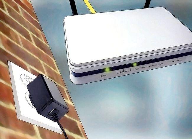 Imaginea intitulată Conectați un router la altul pentru a extinde o rețea 23