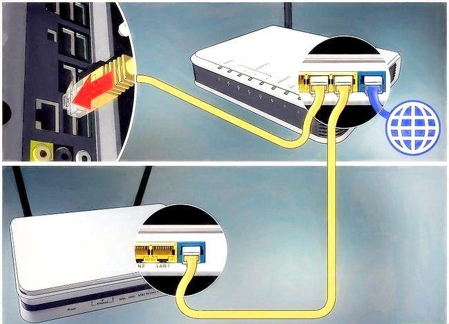 Imaginea intitulată Conectați un router la altul pentru a extinde o rețea. Pasul 7