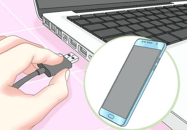 Imaginea intitulată Conectați telefonul Android la computer Pasul 8