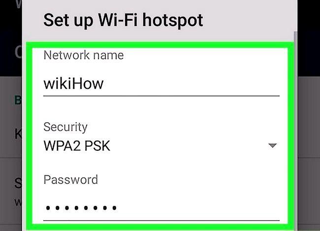 Imagine intitulată Conectați un computer Windows 7 la Internet printr-un telefon Android Pasul 10