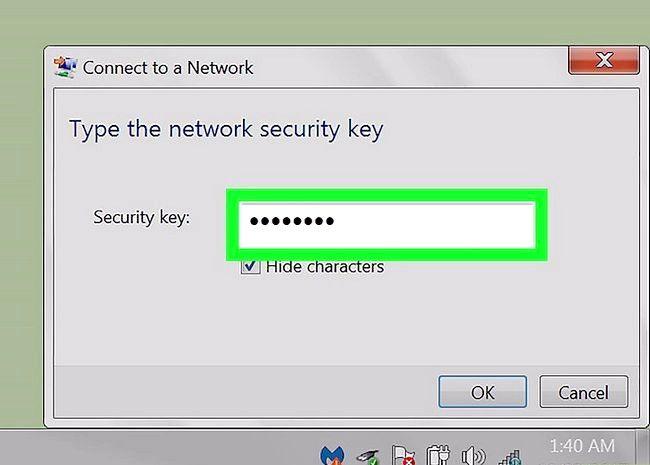 Imagine intitulată Conectați un computer Windows 7 la Internet printr-un telefon Android Pasul 15