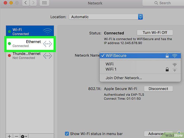 Imaginea intitulată Configurați pasul Ethernet 13