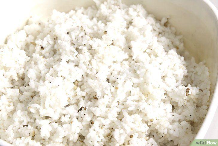 Imaginea intitulă Efectuați orezul Fried Rice Pasul 1