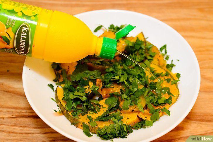 Imagine cu titlul Cook Squash galben Pasul 11