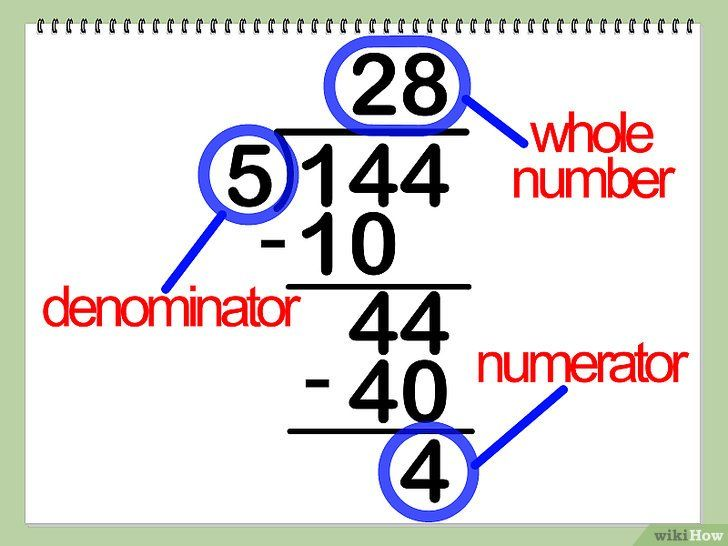 Imagine intitulată Multiplicarea numerelor mixte Pasul 6