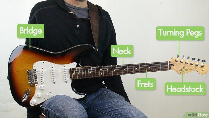 Imagine intitulată Joacă chitara Pasul 1
