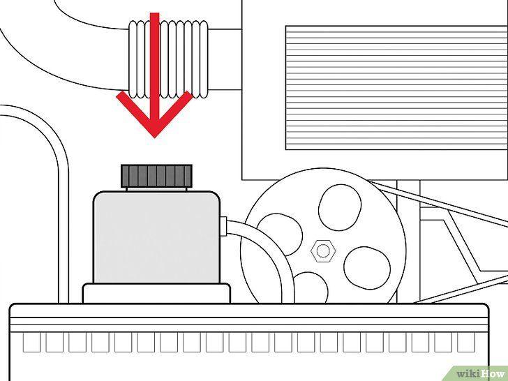 Verificați lichidul hidraulic al servodirecției și completați-l