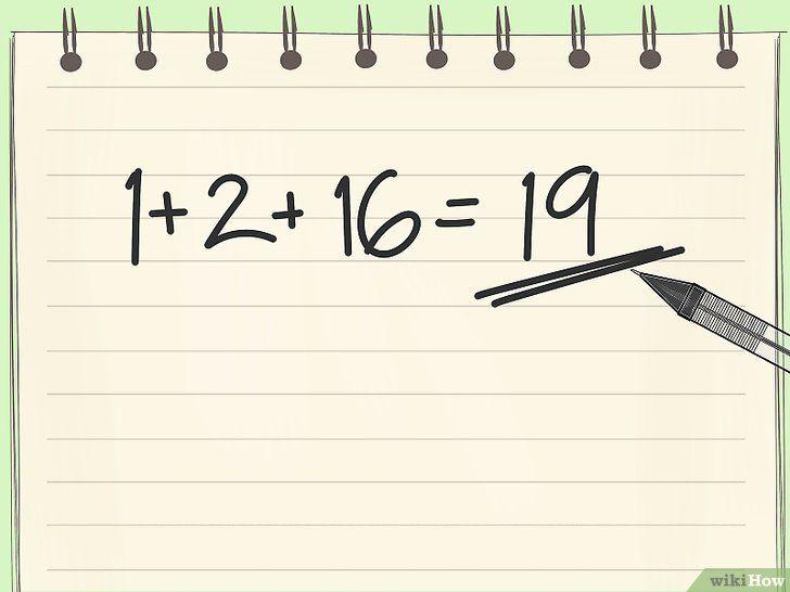 Imaginea intitulată Numărarea în pasul binar 11