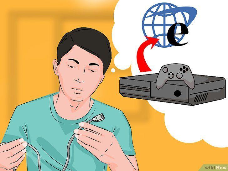Imagine intitulată Conectați Xbox One la Internet Pasul 1