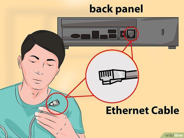 Imaginea intitulată Conectați Xbox One la Internet Pasul 2