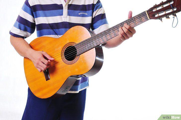 Imagine intitulată Începeți să învățați chitara Pasul 5