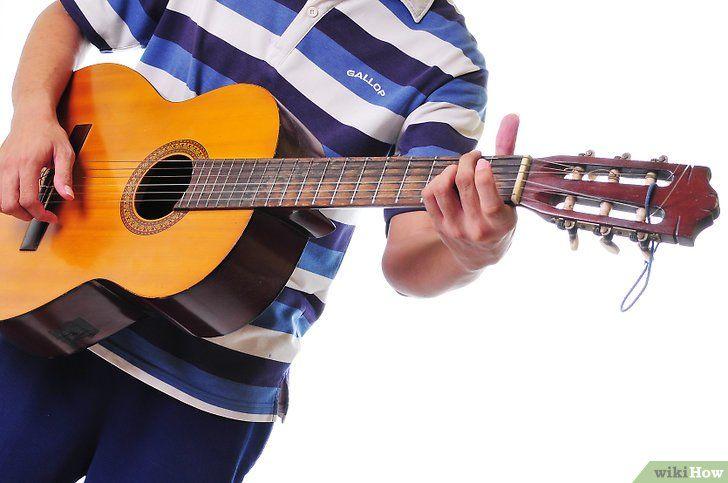 Imagine intitulată Începeți să învățați chitara pasul 6