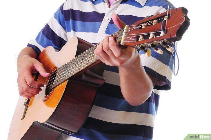 Imagine intitulata Start Learning Guitar Pasul 9